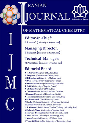 Iranian Journal of Mathematical Chemistry